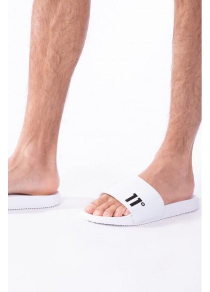 11 Degrees Core Slides - White/Black
