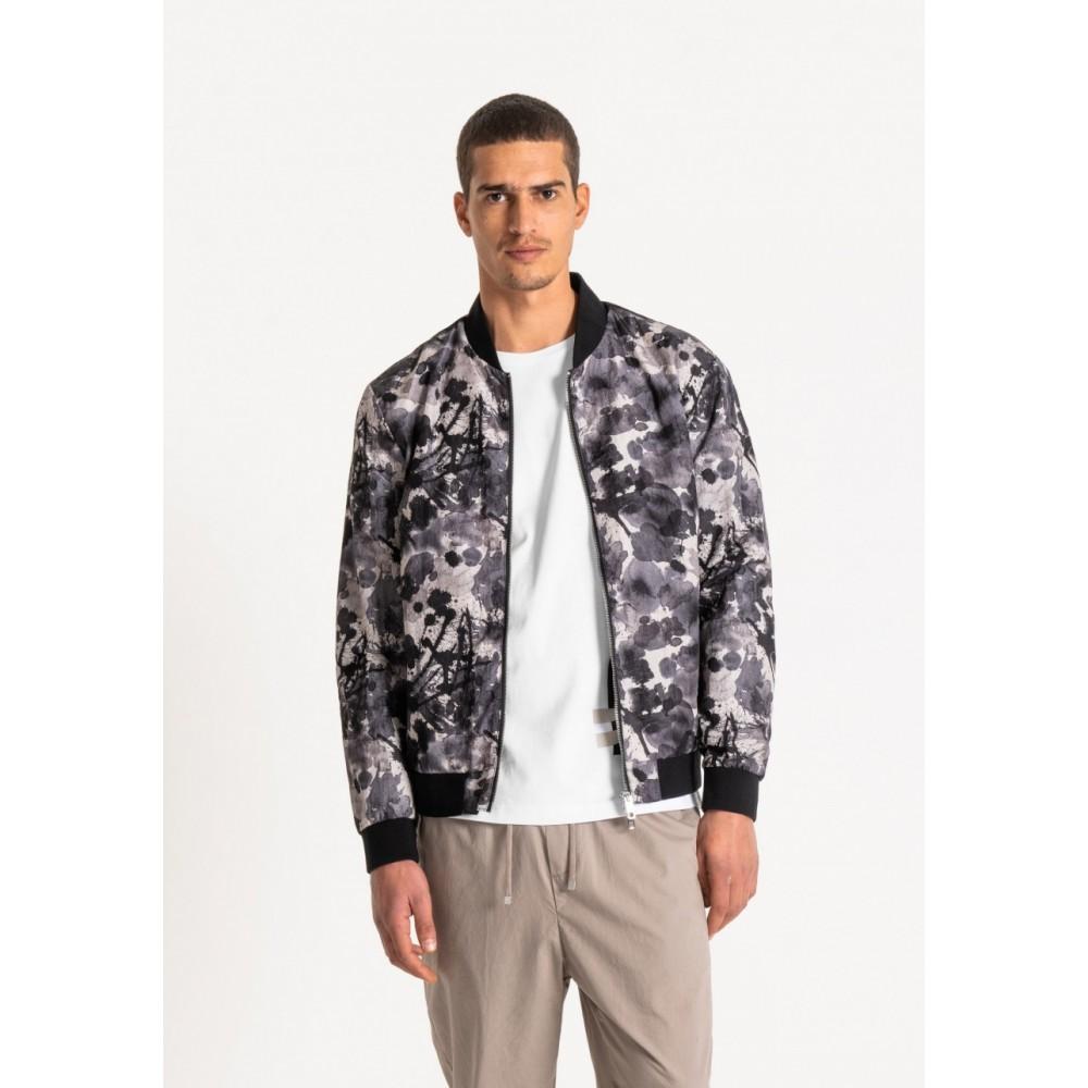 Antony Morato Nylon Printed Bomber Jacket