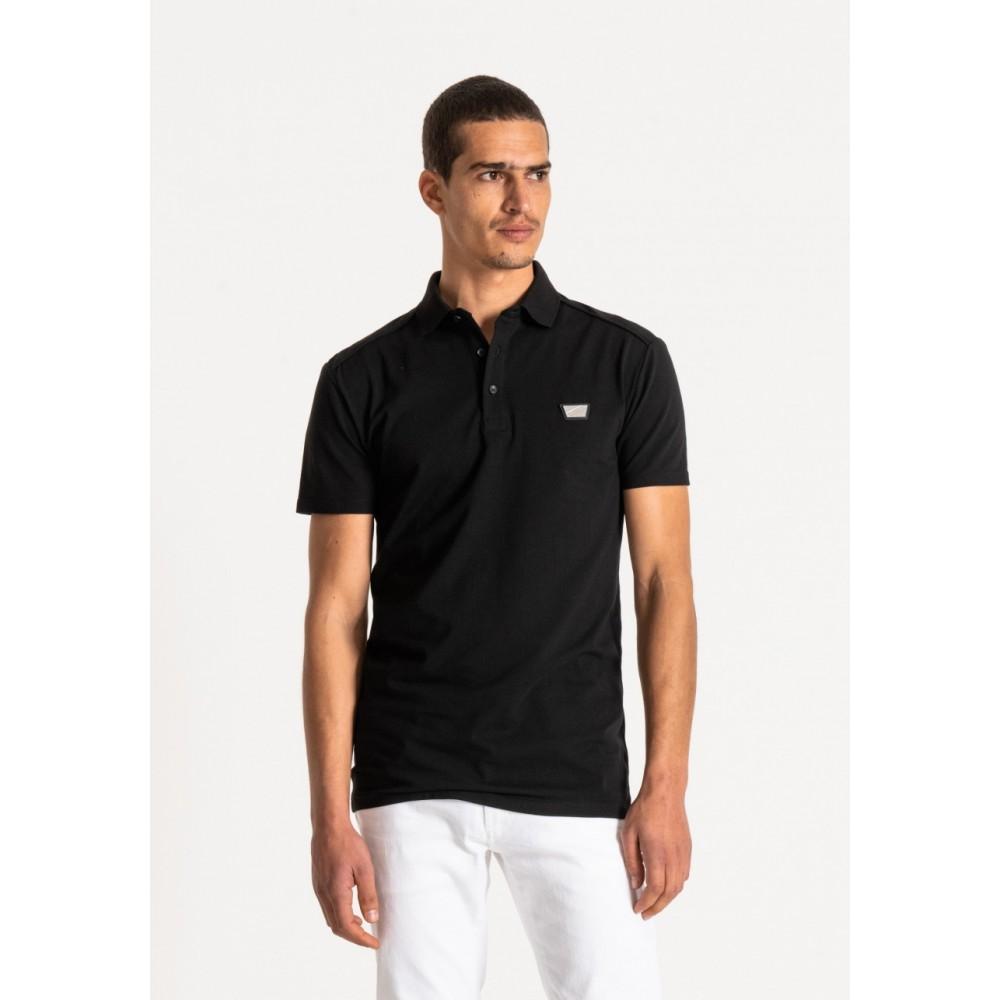 Antony Morato Super Slim Fit Black T-Shirt