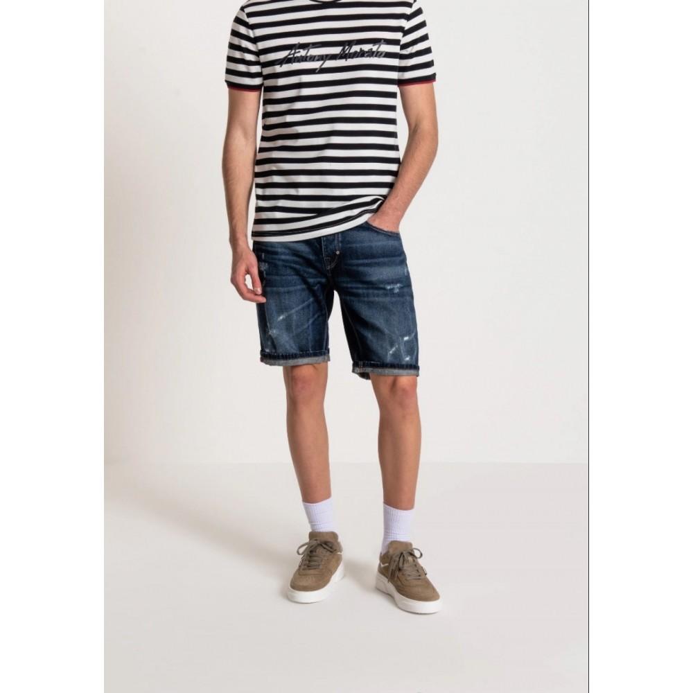 Antony Morato Slim Fit 'Baart' Denim Shorts