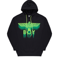 Boy Ghost Hood - Black