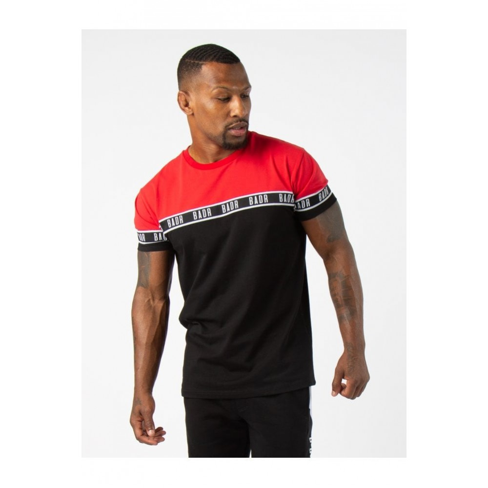 BADR Two Way Tee - Black / Red