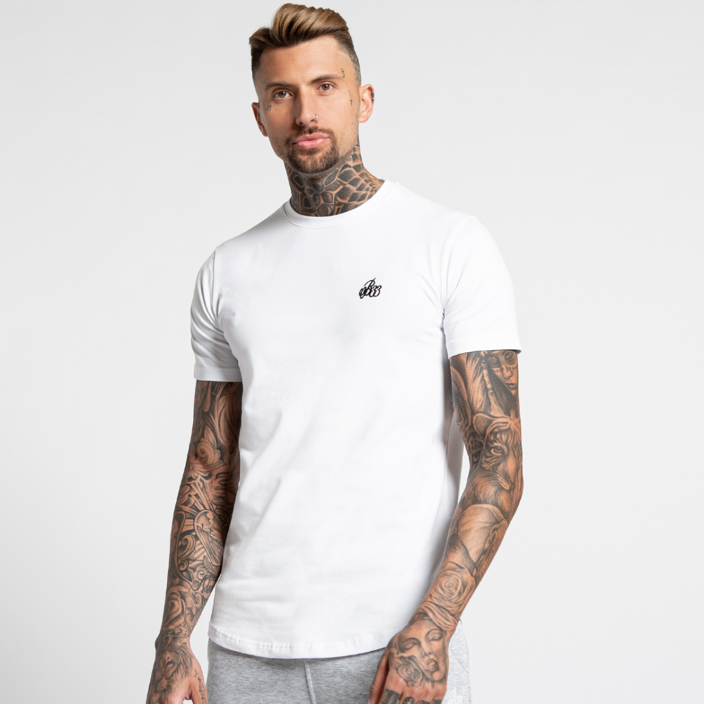 Bee Inspired Signature T-Shirt - White