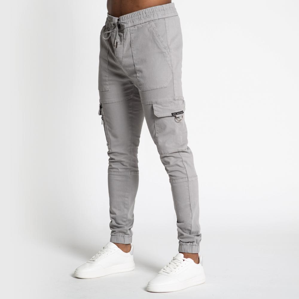 Bee Inspired Lyndon Cargo Pants - Grey