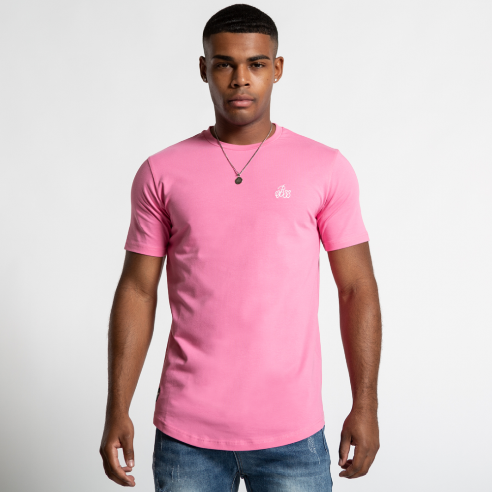 Bee Inspired Signature T-Shirt - Pink
