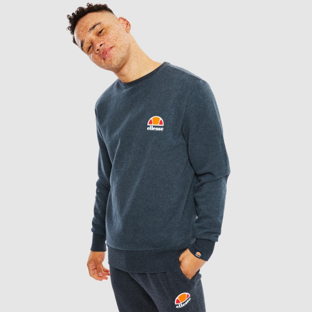 Ellesse Diveria Sweatshirt - Dark Grey Marl