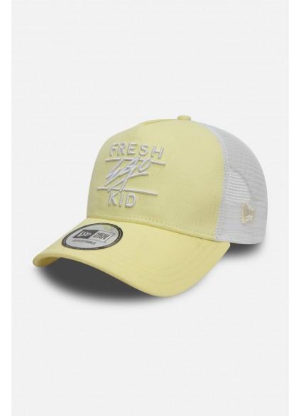 Fresh Ego Kid x New Era A-Frame Yellow Trucker Cap