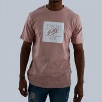 Fresh Ego Kid Box Logo Dusty Pink T-Shirt