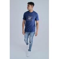 Fresh Ego Kid Box Logo Royal Blue T-Shirt