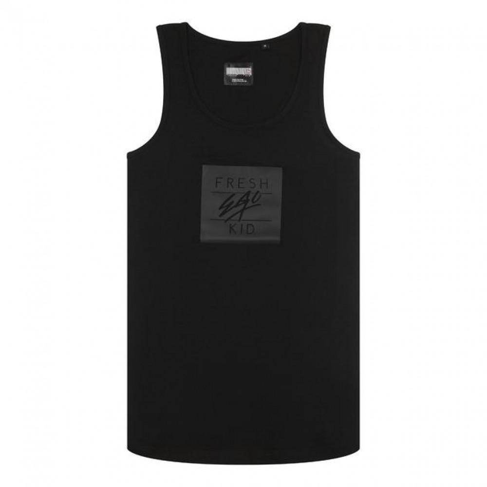 Fresh Ego Kid Box Logo Vest - Black