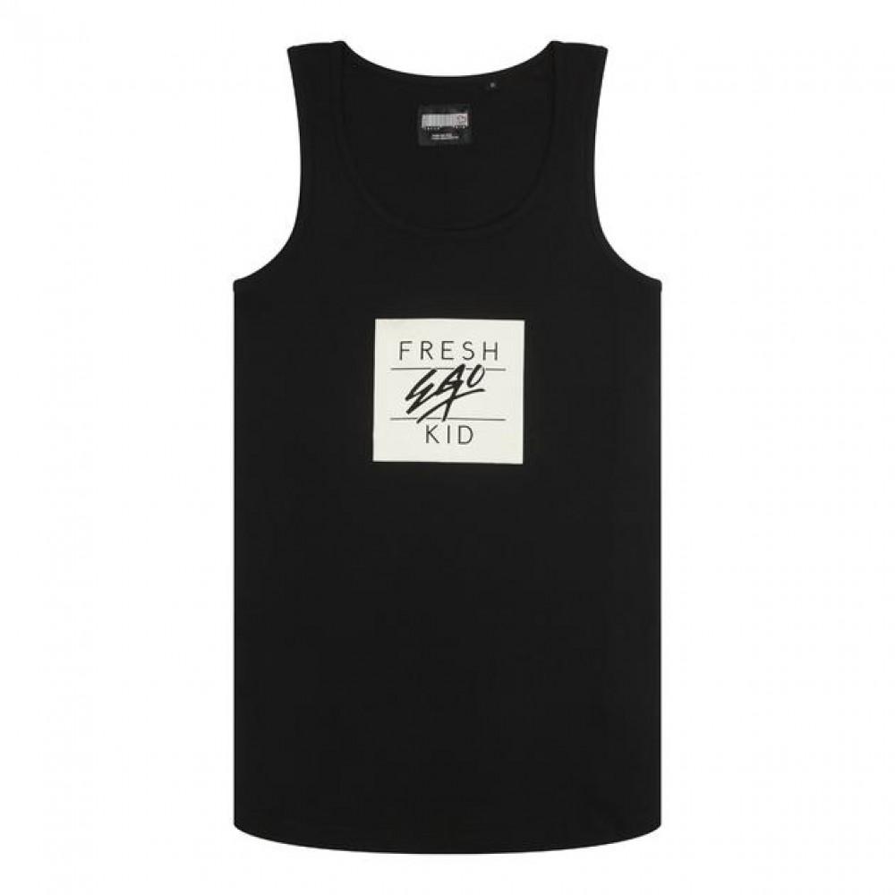 Fresh Ego Kid Box Vest - Black & White