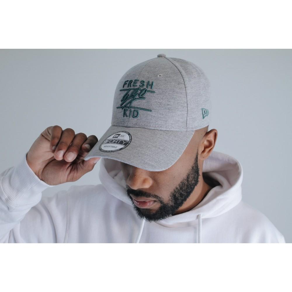 Fresh Ego Kid x New Era 9FORTY Grey Polo Hat