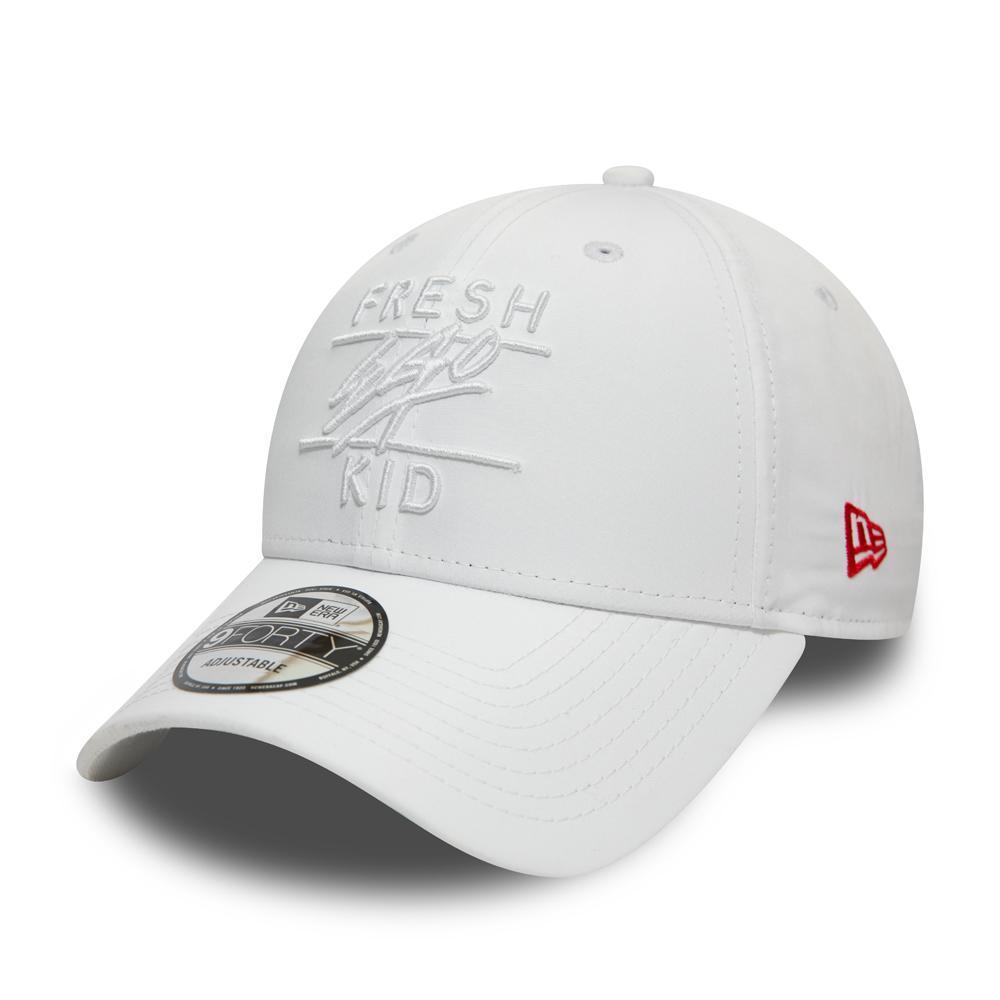 Fresh Ego Kid x New Era Taped 9FORTY White Polo Hat