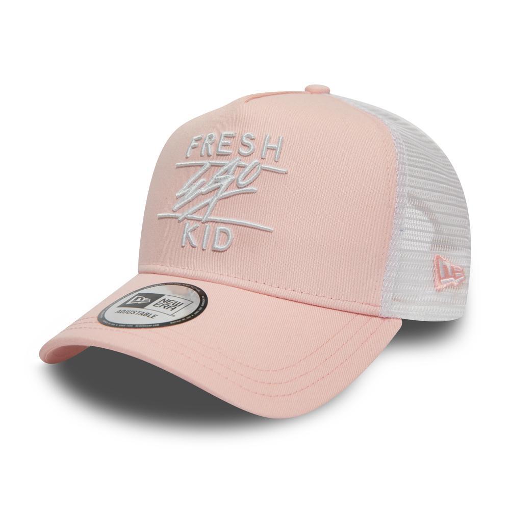Fresh Ego Kid x New Era Pink/White Mesh Trucker