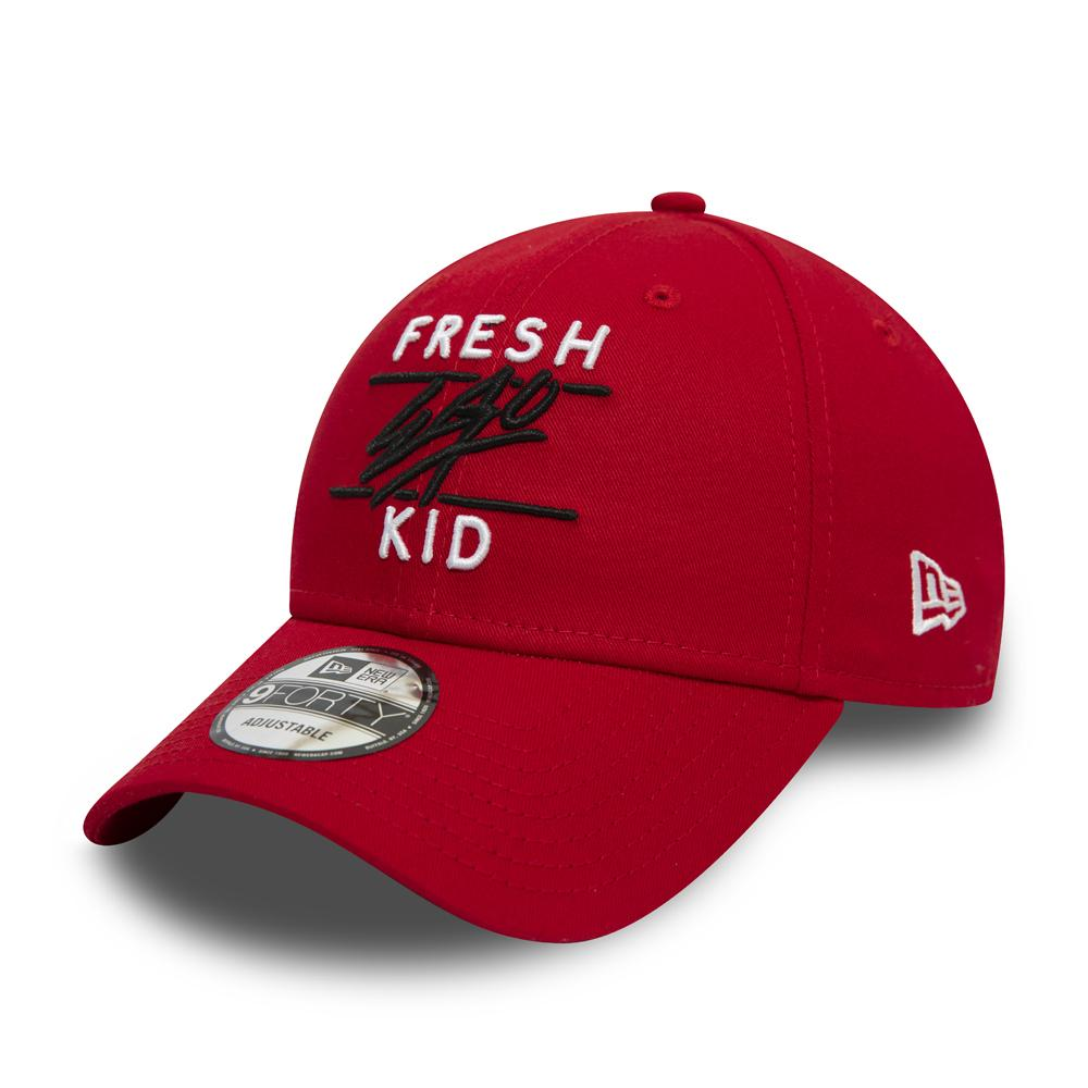 Fresh Ego Kid New Era 9FORTY Red Polo Hat