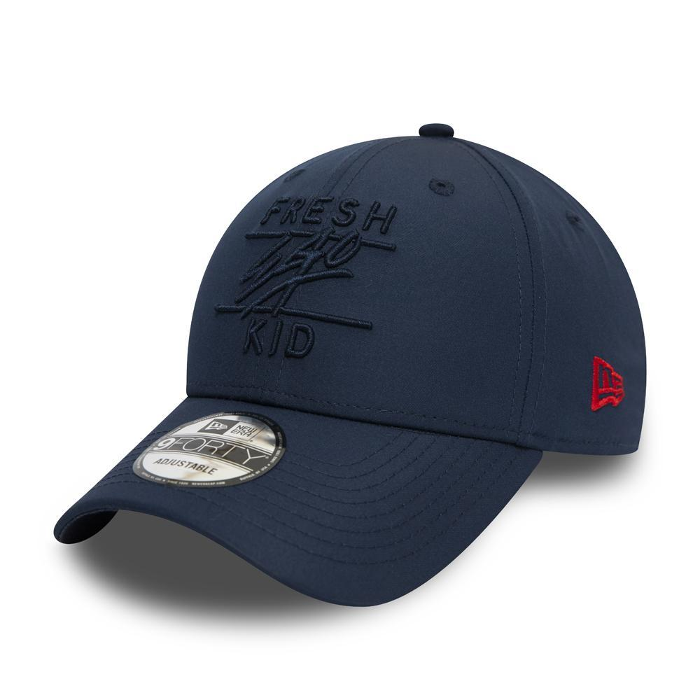 Fresh Ego Kid x New Era Taped 9FORTY Navy Polo Hat