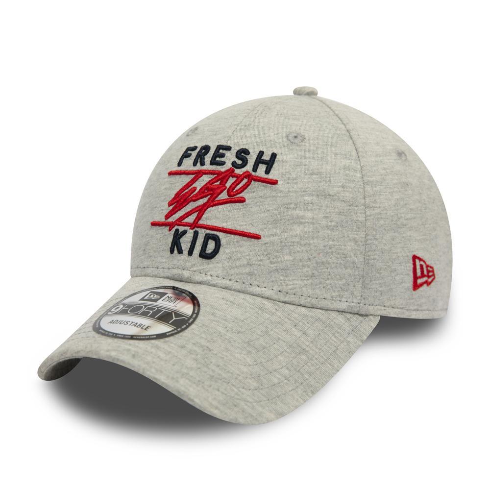 Fresh Ego Kid x New Era 9FORTY Grey & Teal Polo Hat