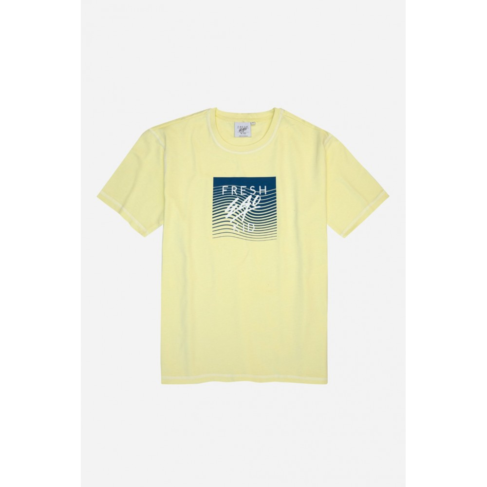 Fresh Ego Kid Big Heritage Logo Yellow T-Shirt