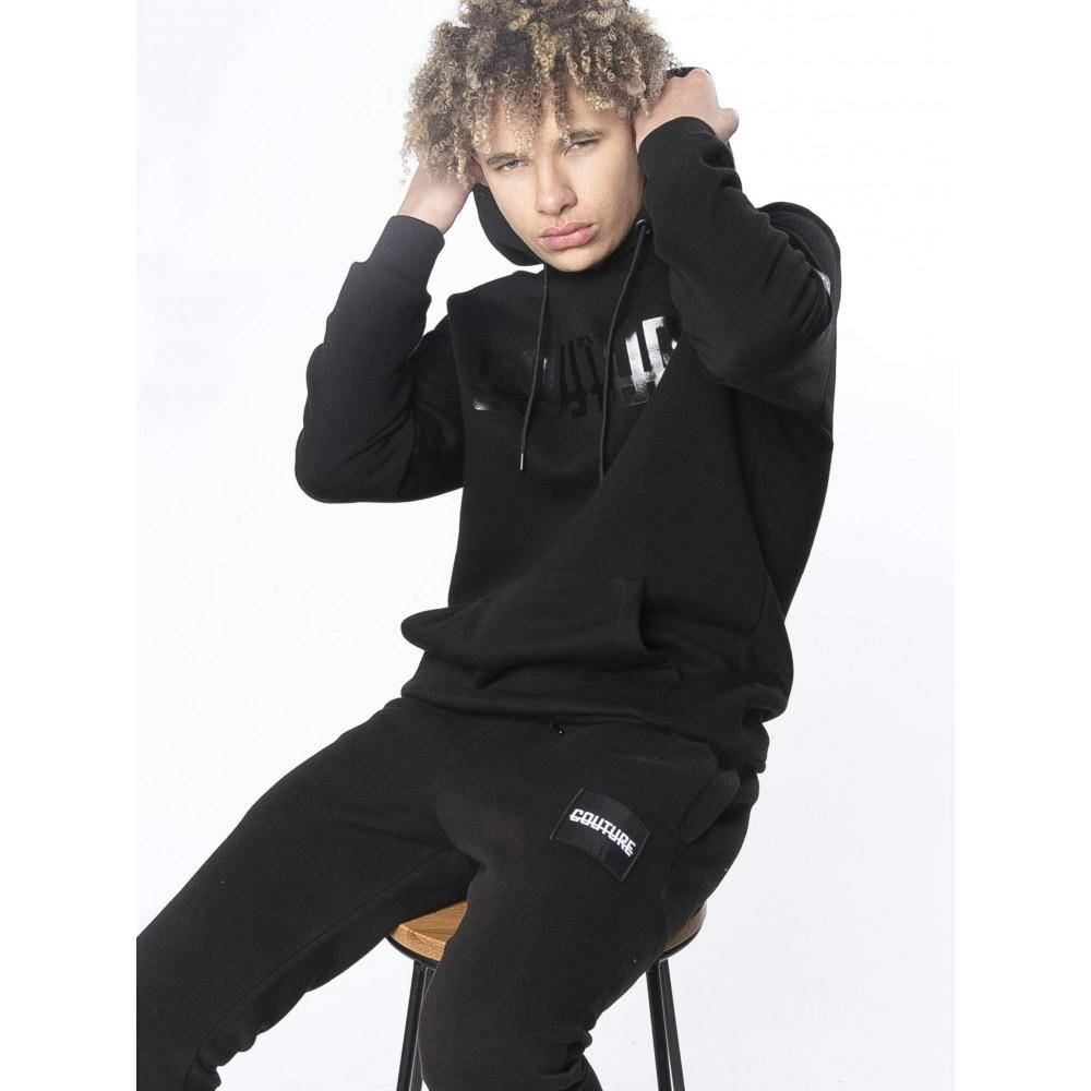 Fresh Couture Black Label Hoodie - Black