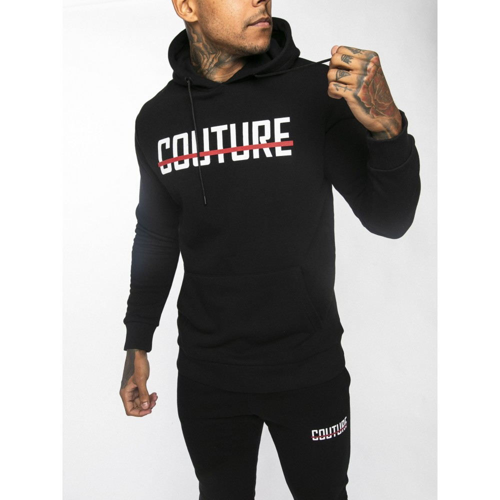 Fresh Couture Strike OG Hoodie Black/Red 'Colour Pack'