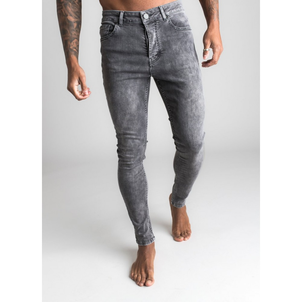 Gym King Neka Mid Grey Jeans