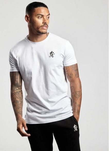 Gym King Origin White T-Shirt