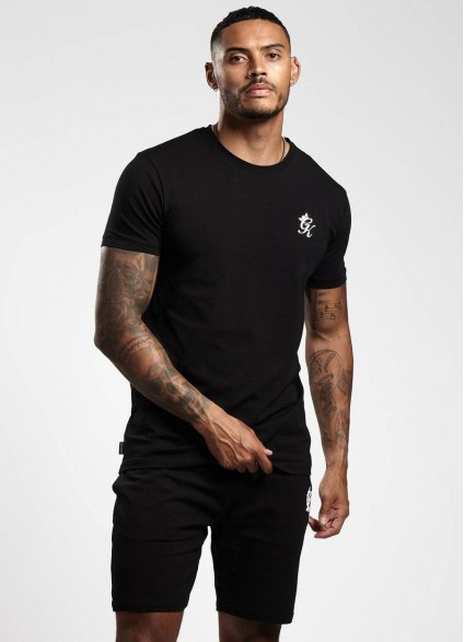 Gym King Origin Black T-Shirt