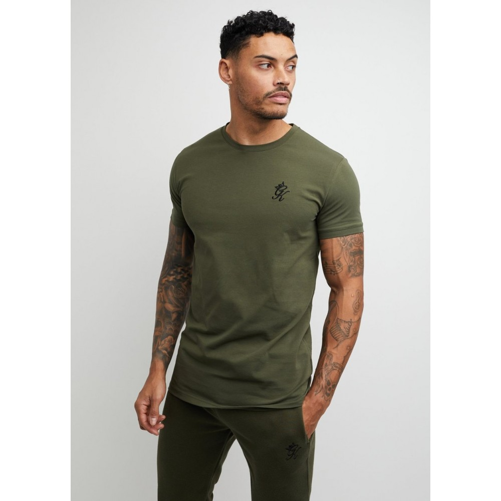 Gym King Origin Khaki T-Shirt
