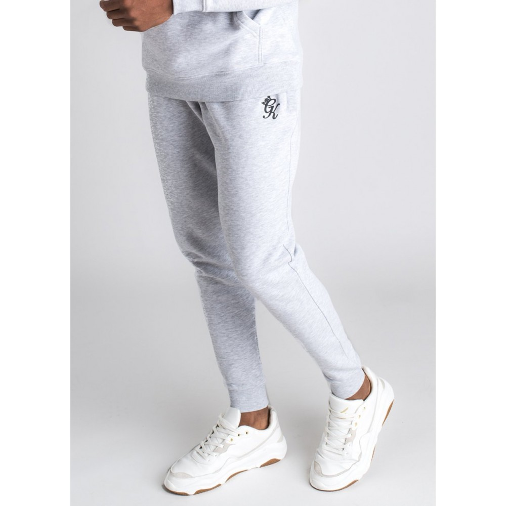 Gym King Basic Jogger - Snow Marl