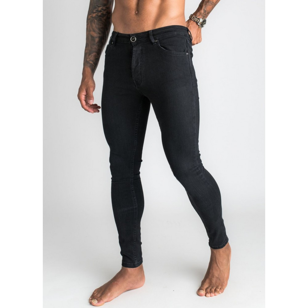 Gym King Skinny Black Denim Jeans