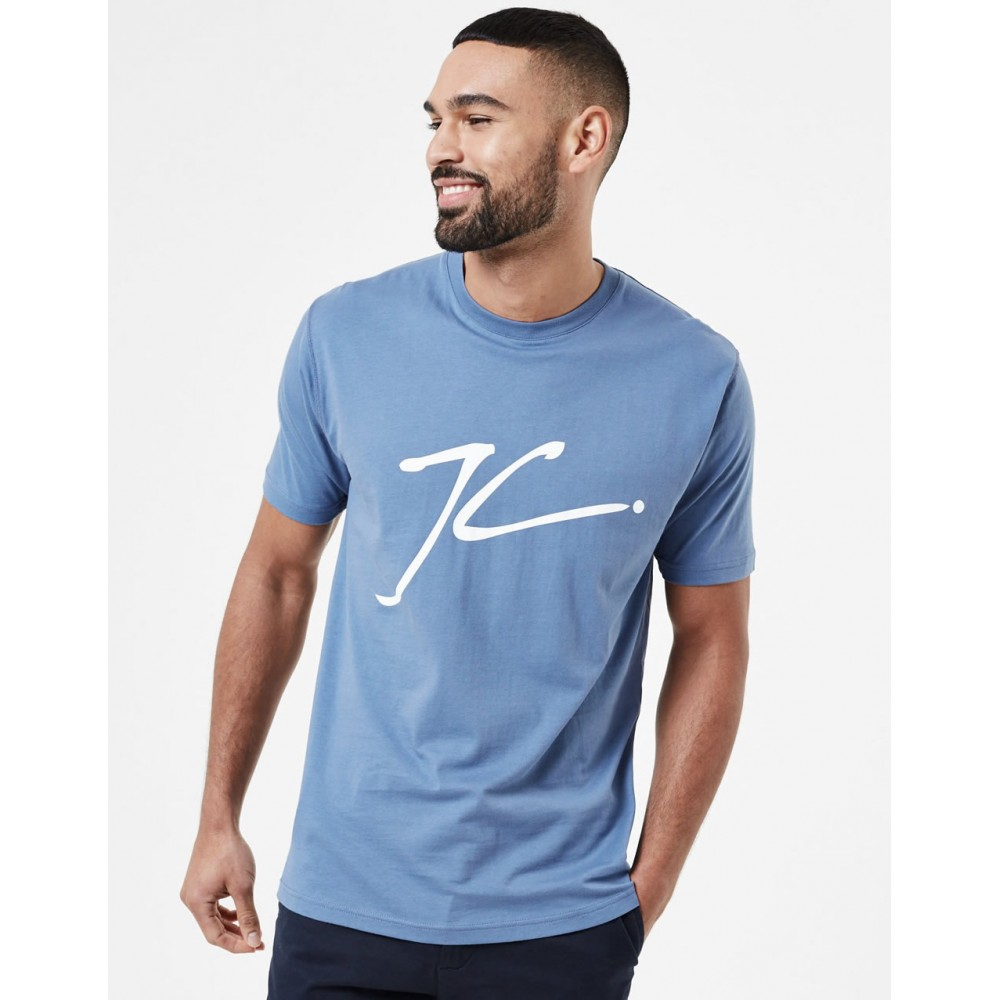 Jameson Carter Large JC T-Shirt - Blue
