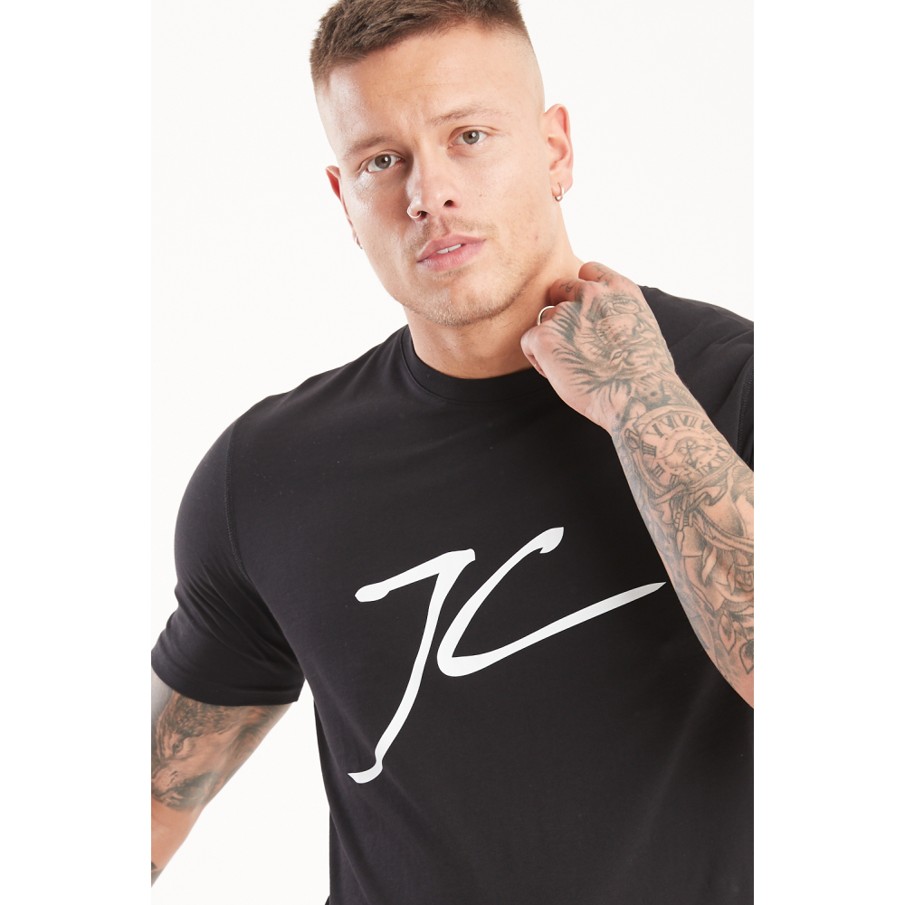 Jameson Carter Large JC T-Shirt - Black