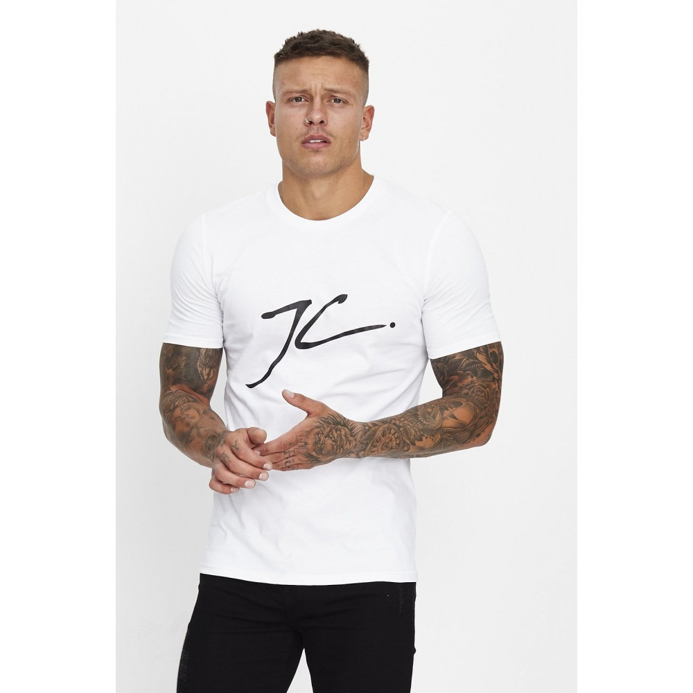 Jameson Carter Large JC T-Shirt - White