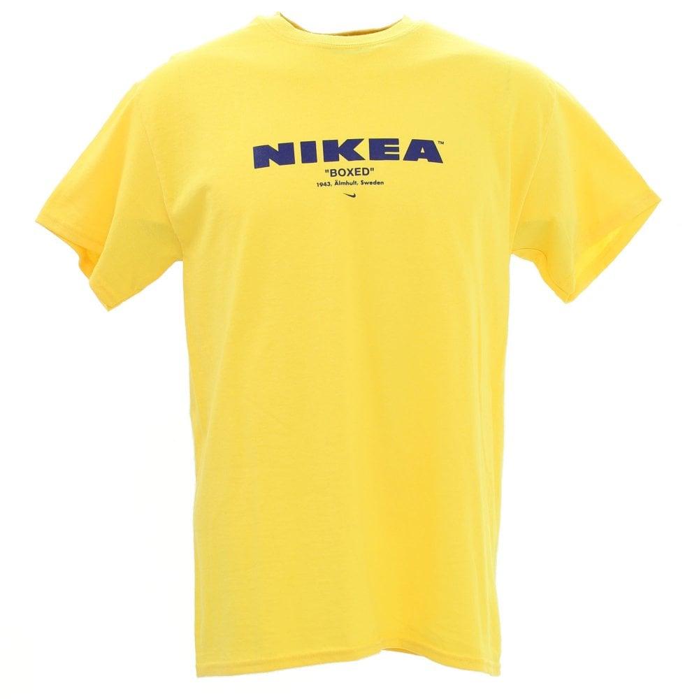 Kustom London Nikea Tee - Yellow