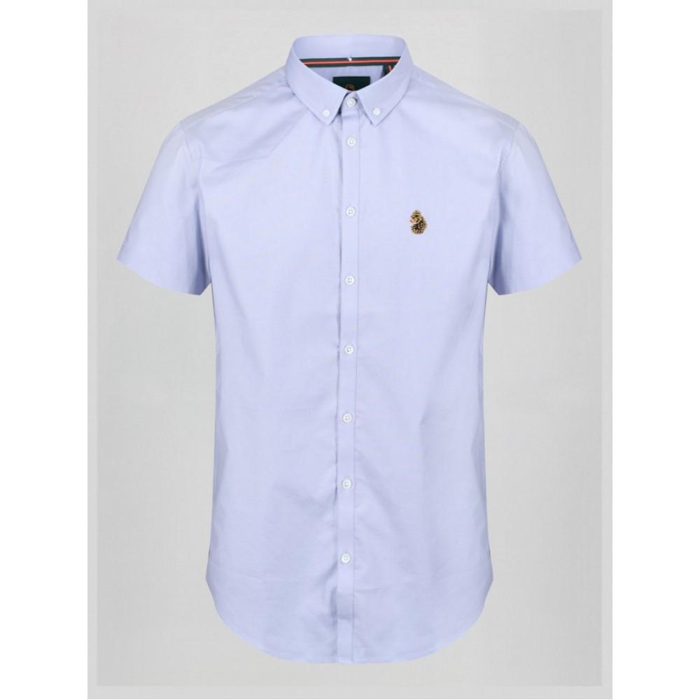 Luke Sport Jimmy Stretch Sky White Shirt