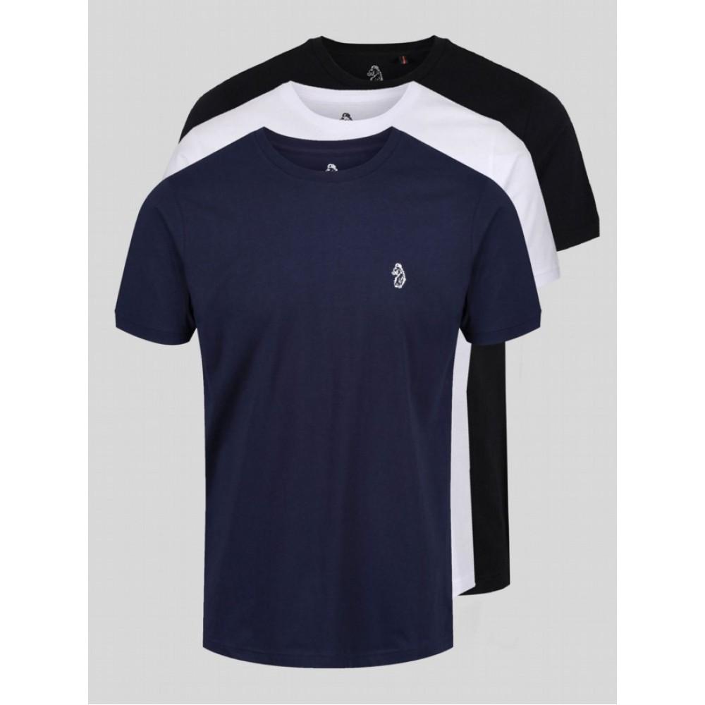 Luke 1977 Johnys 3 Pack Crew T-Shirt