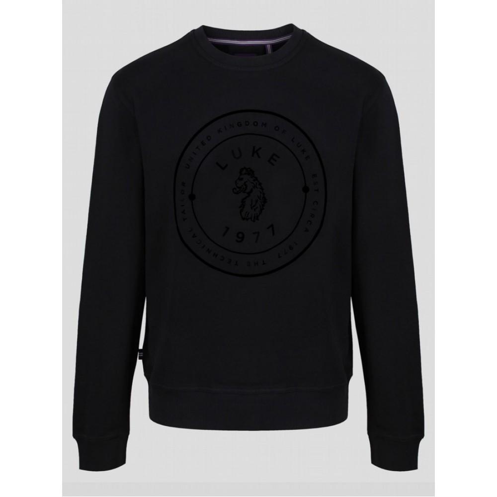 Luke 1977 Big Day Out Black Sweatshirt