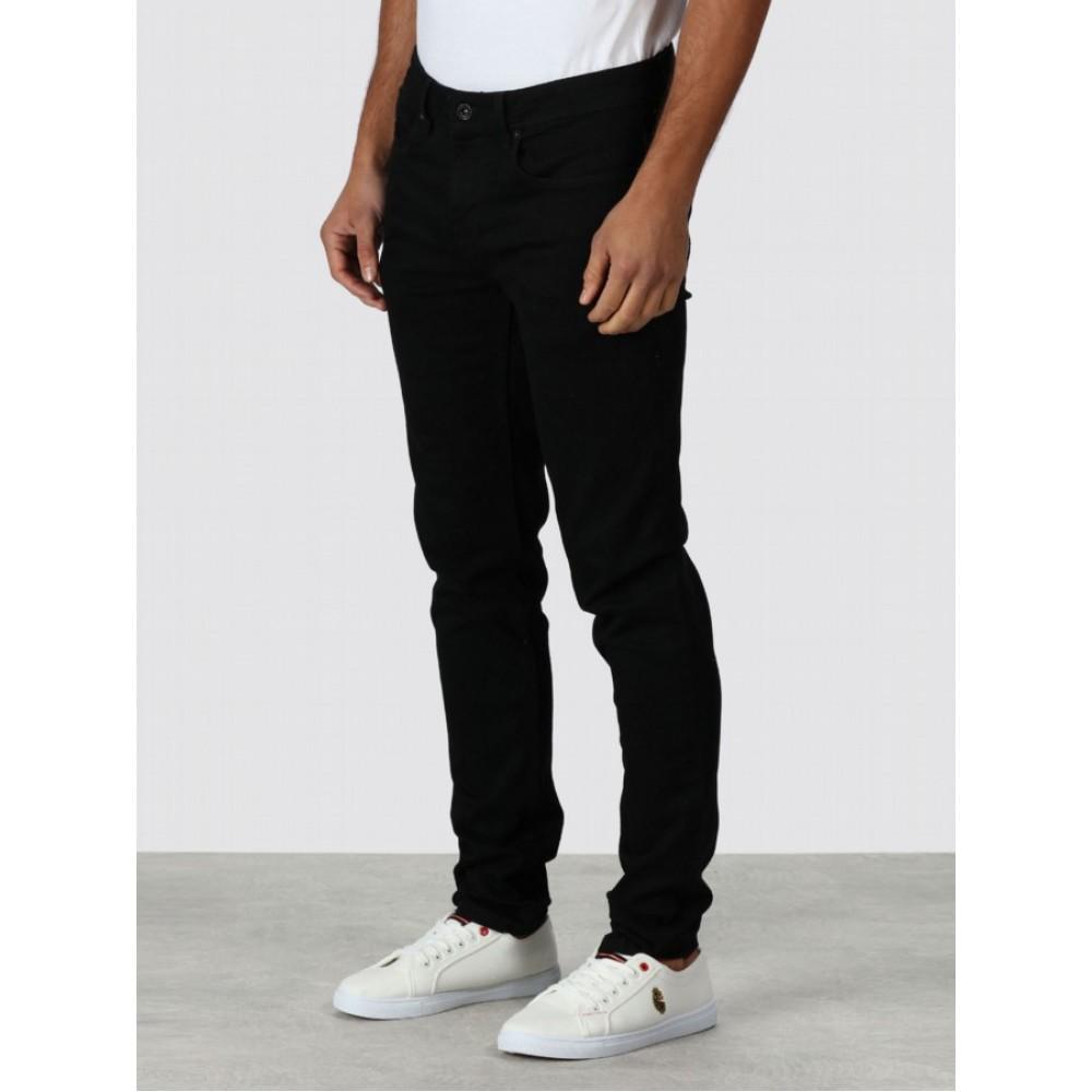 Luke Rui Raw Black Jeans