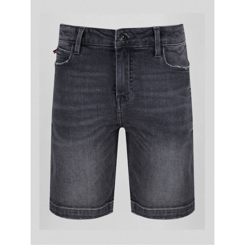Luke 1977 Nimed Light Black Denim Shorts
