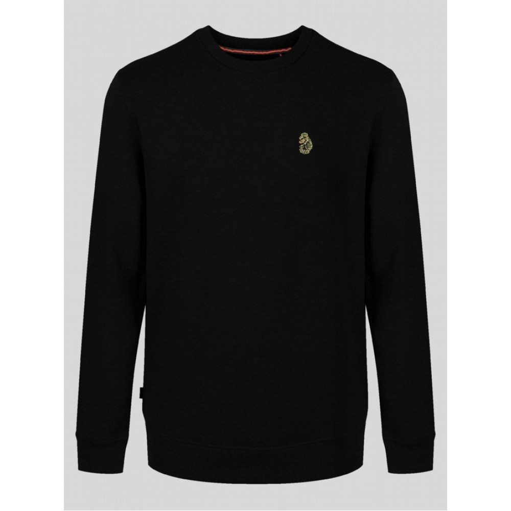 Luke 1977 Runner Long Sleeve Black Sweatshirt