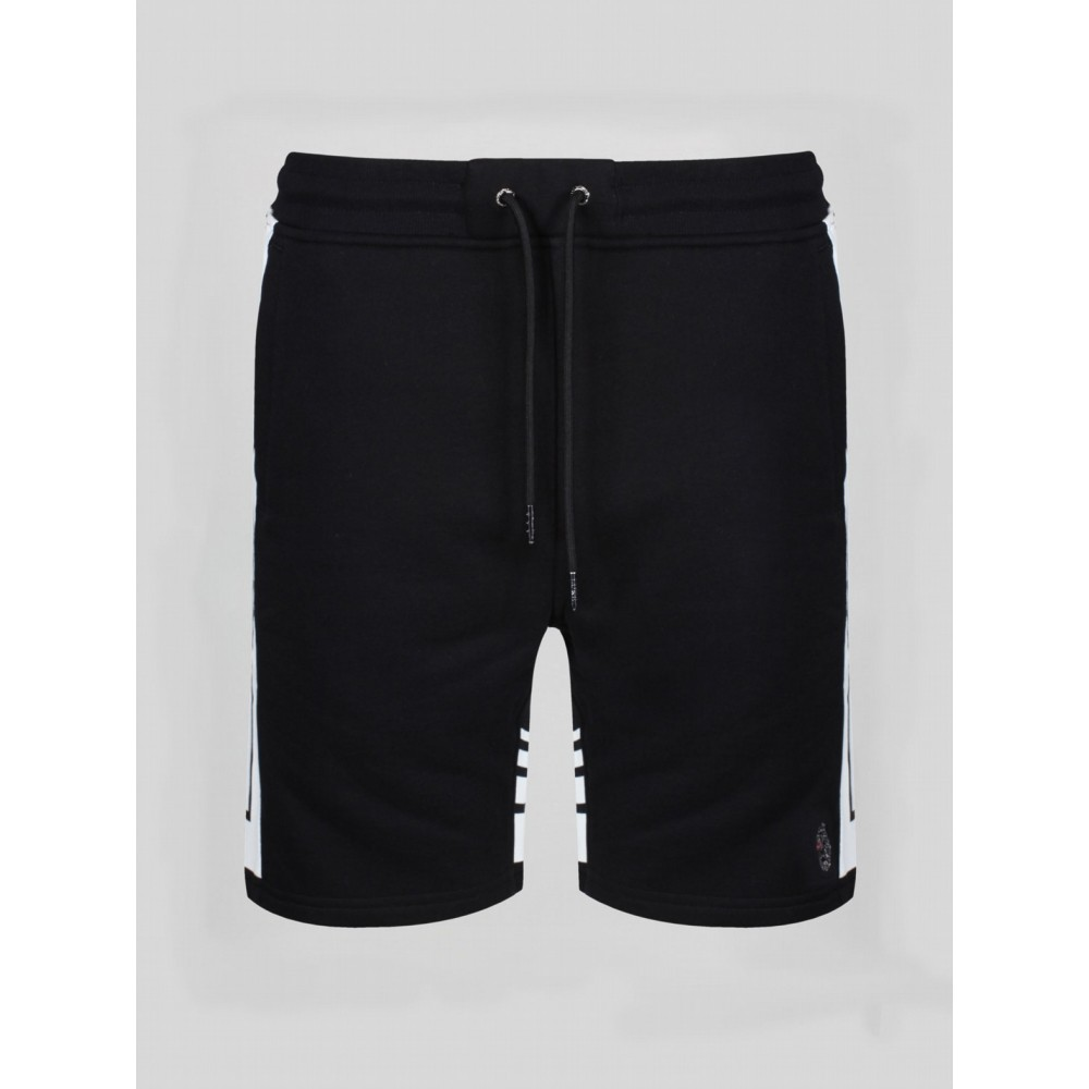 Luke 1977 Quiff Richards Black Shorts