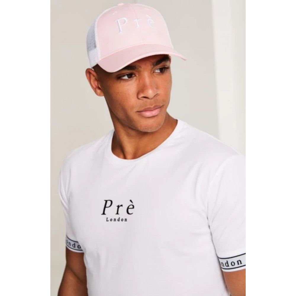 Pre London Mesh Trucker Cap - Pink / White