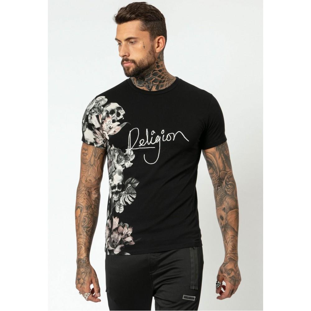 Religion Hero Black T-shirt