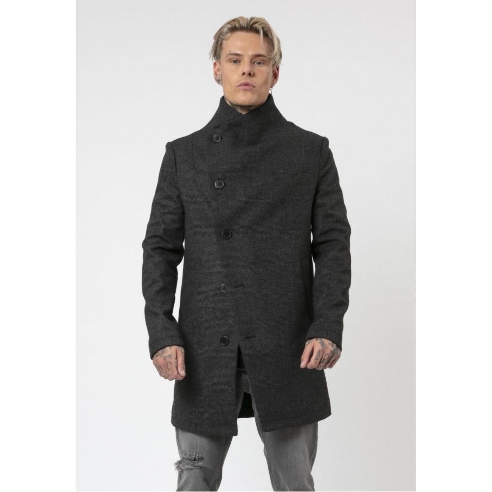 Religion Noirex Charcoal Coat
