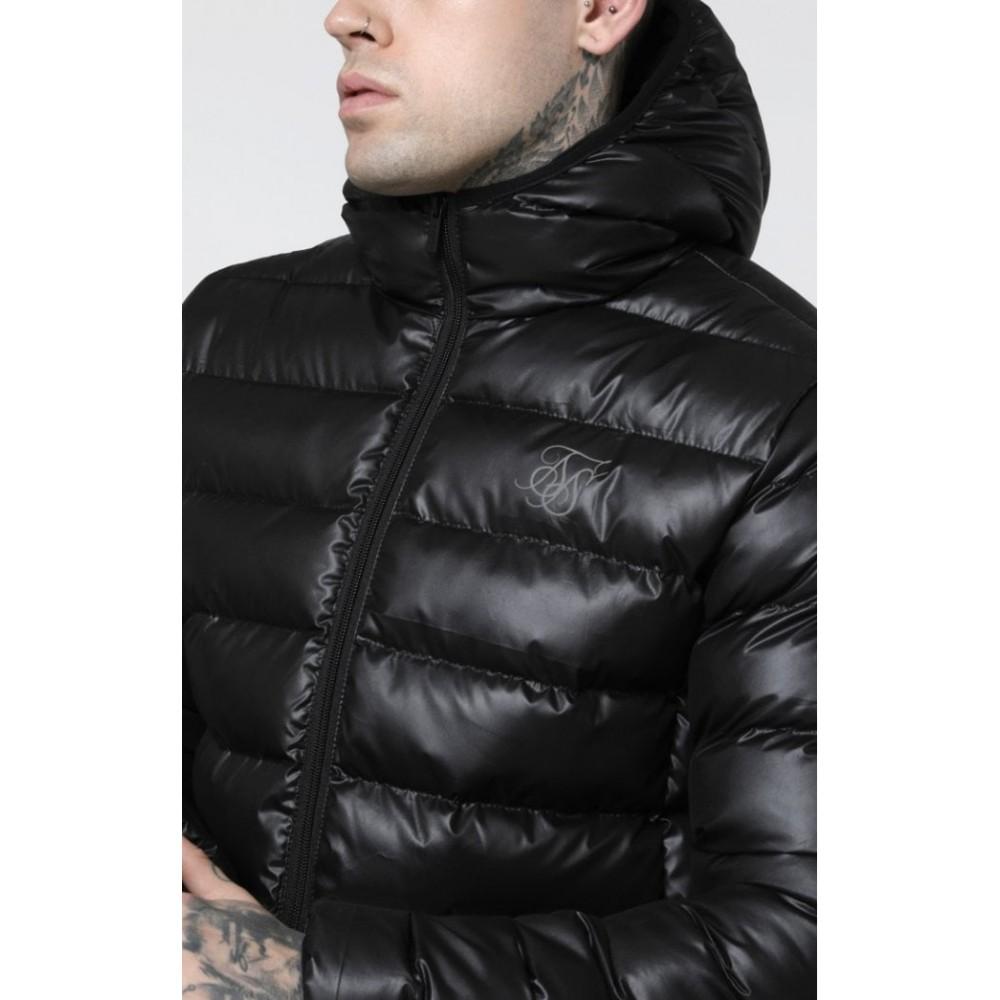 SikSilk Atmosphere Black Jacket