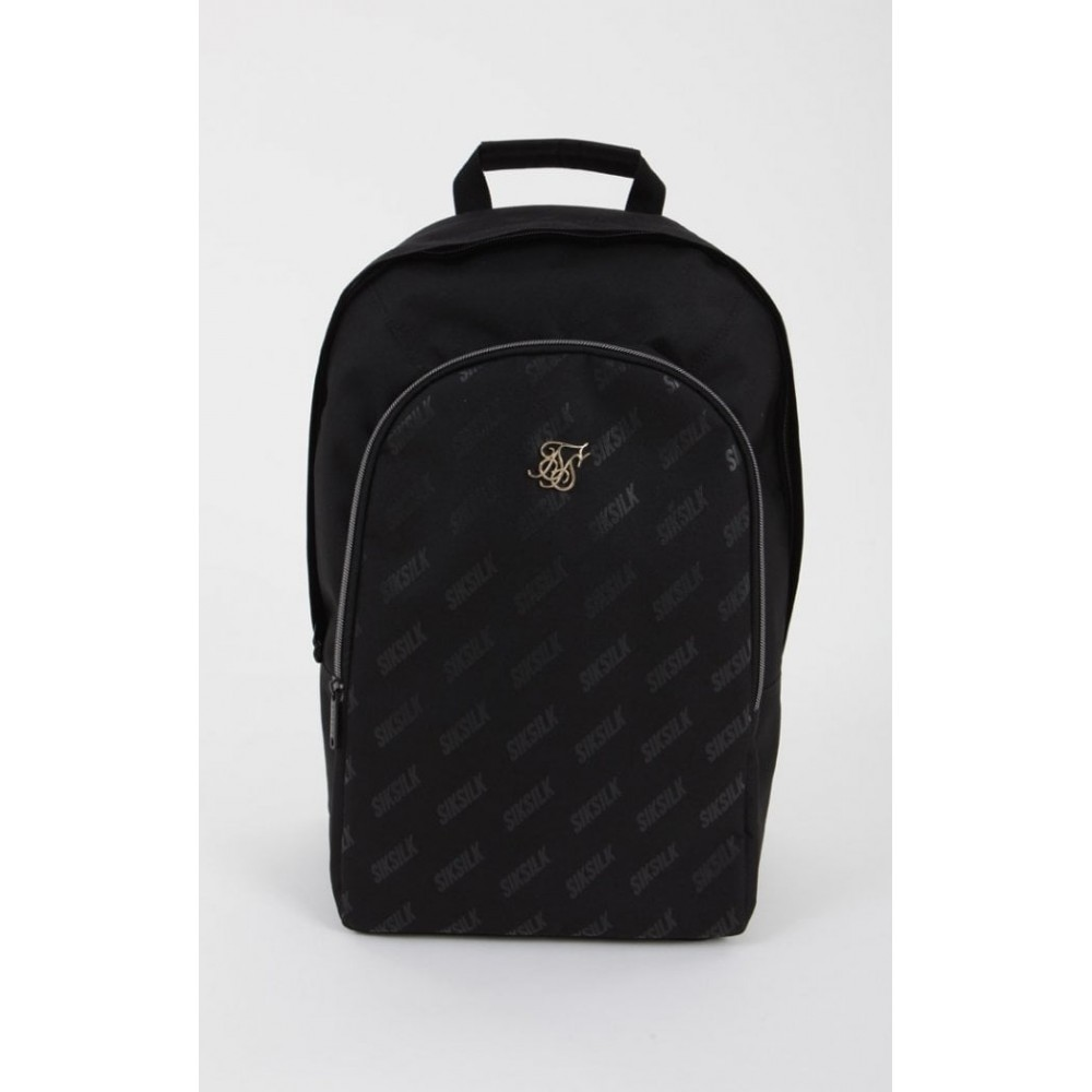 SikSilk Diagonal Repeat Backpack - Black