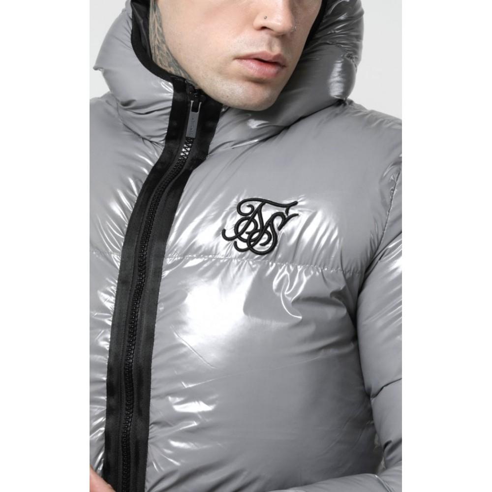 SikSilk Driven Jacket – Grey