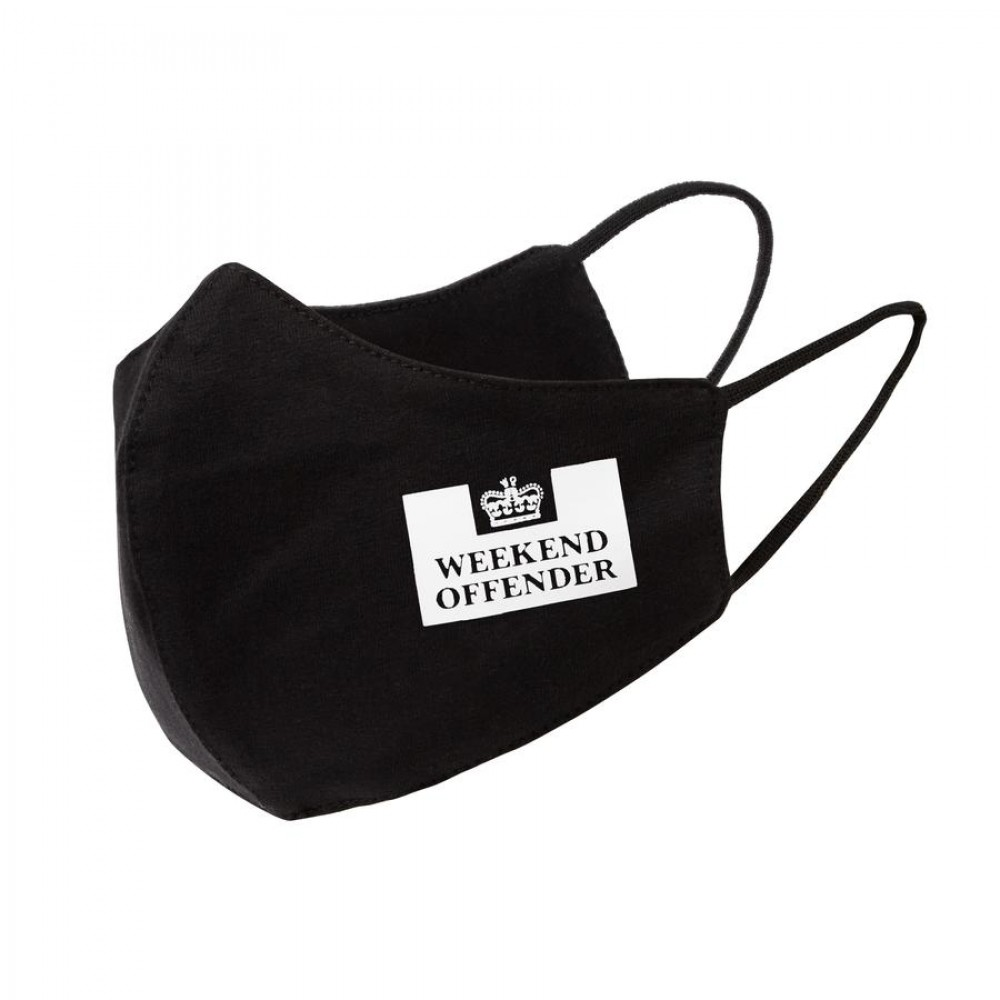Weekend Offender Face Mask Prison Black