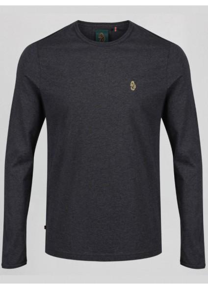 Luke 1977 Long Traff T-Shirt - Charcoal