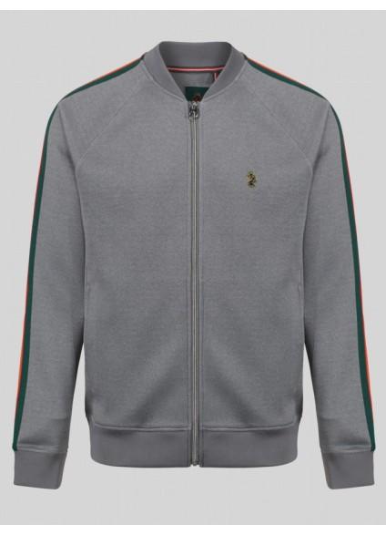 Luke 1977 Keegan Mrl Silver Track Jacket